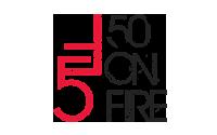 50onFire logo